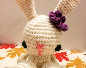 Beautiful rabbit crochet animal