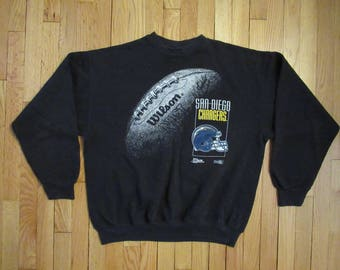 Vintage Mens White University of San Diego USD Logo Crewneck Sweatshirt Size XL OFfeDYXn