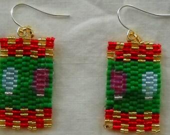 Christmas Lights Earrings