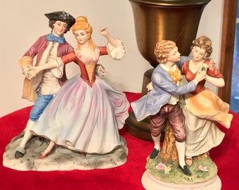 Vintage set of figurines