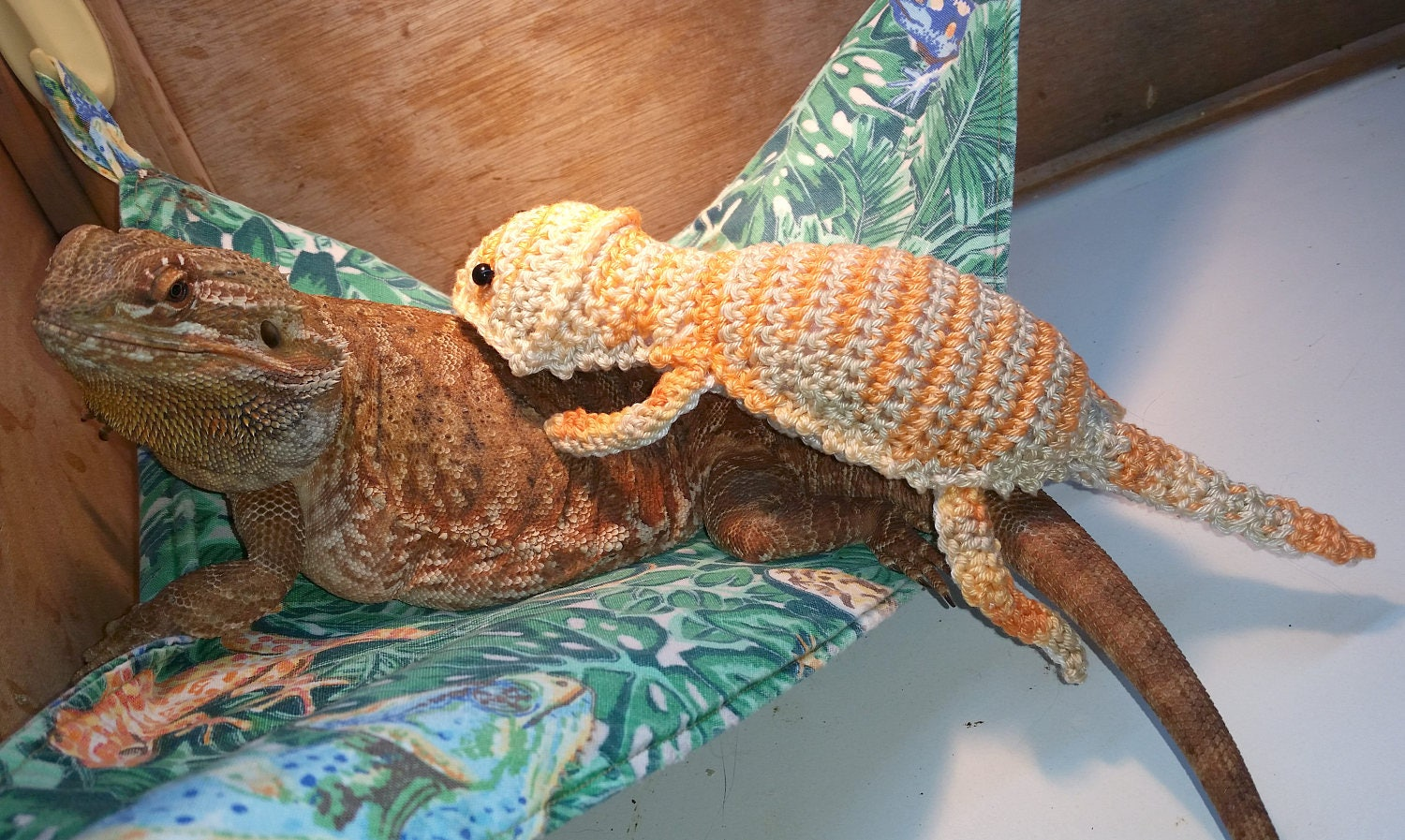 Bearded Dragon Amigurumi Stuffed Toy Crochet PATTERN only from ...