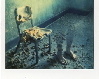 Polaroid Print - Haunted