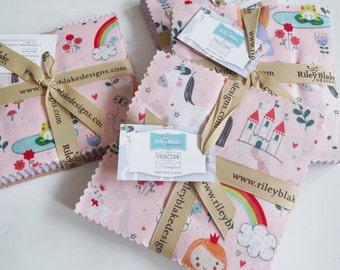 Princess Dreams Fabric Charm Pack-100% cotton
