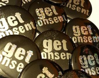 get consent pinback button