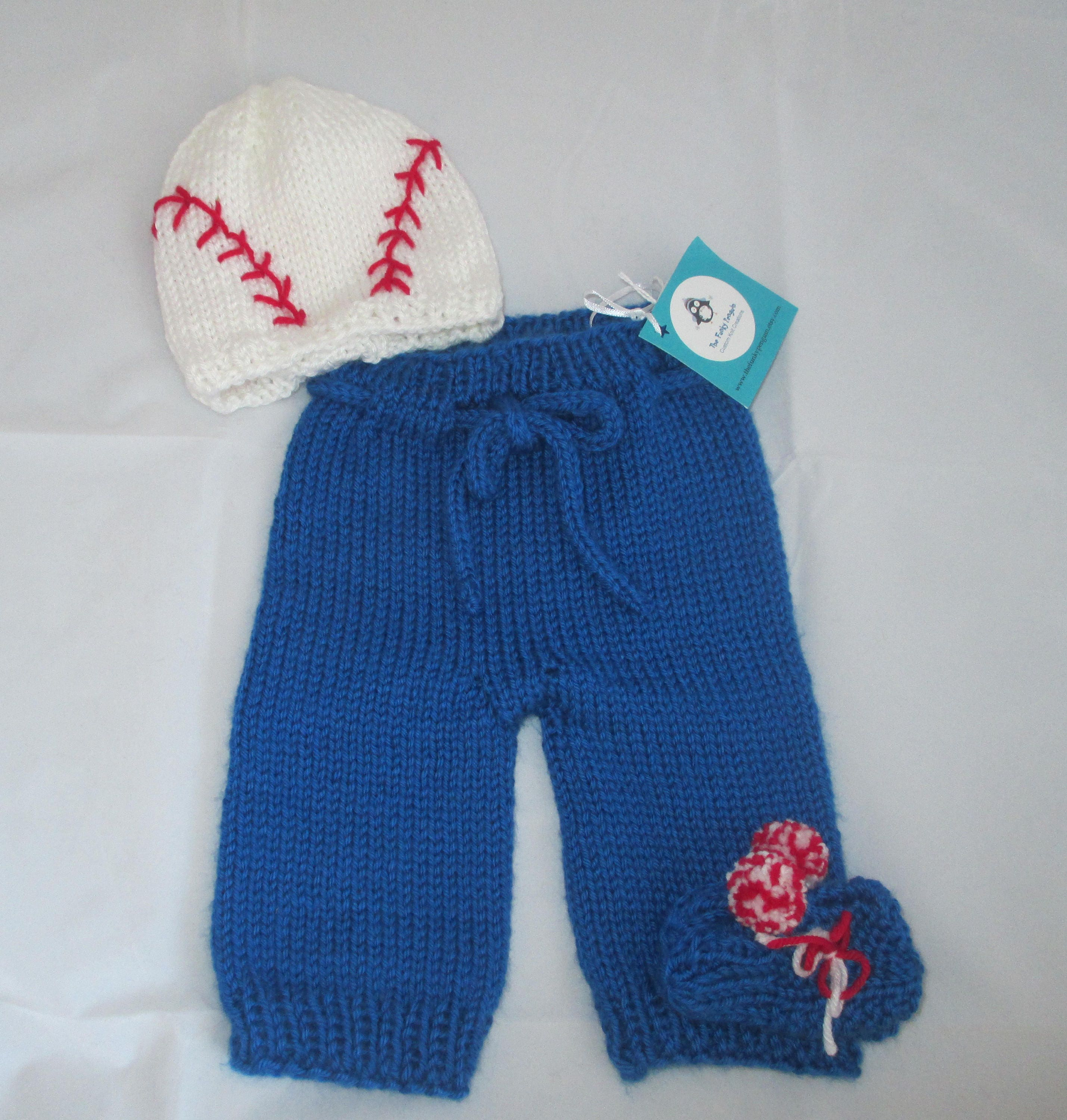 Chicago Cubs baby pants set