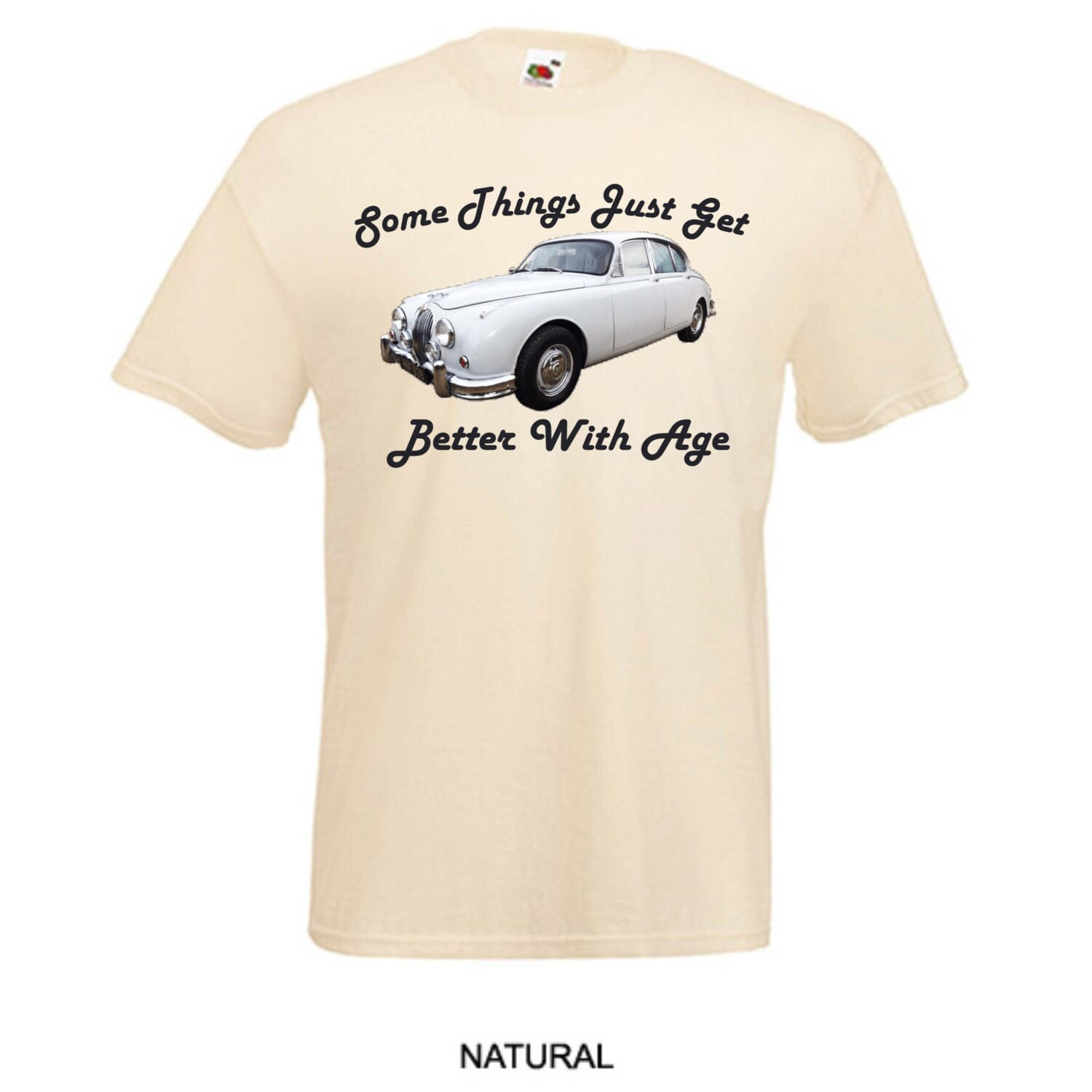Classic Jaguar MK 2 Vintage Car Things Get Better with Age Printed T ...