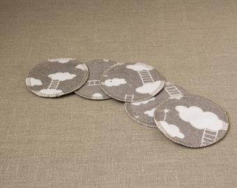 Face pads, Cotton rounds, Reusable cotton Pads,  Reusable cotton rounds, Facial rounds, Cleansing pads, Reusable Pads, 100% Natural