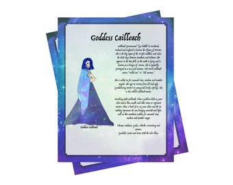 2 Pages For Your BOS ~Goddess Cailleach Bundle~Grimoire