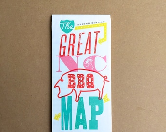 Great NC BBQ Map