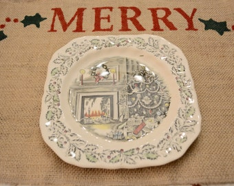 Rustic Burlap Christmas Placemats
