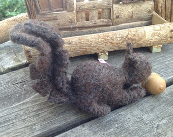 Chocolate Brown Squirrel Buddy