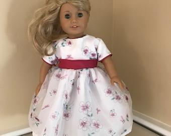 "18"" doll dress that fits American girl doll"