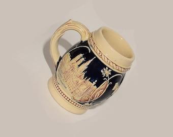 Vintage Western Germany Beer Mug / Stein / Hofbrauhaus / Post World War II