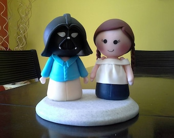 Star Wars Clay Wedding Cake Topper