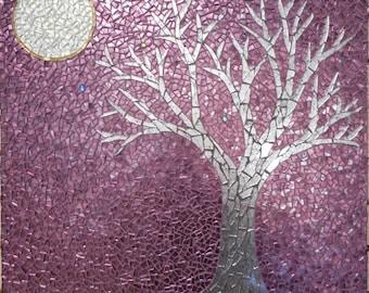 """Mosaic Table - """"Clair de Lune"""""""