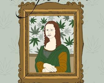 High Art: A Cannabis Coloring Book