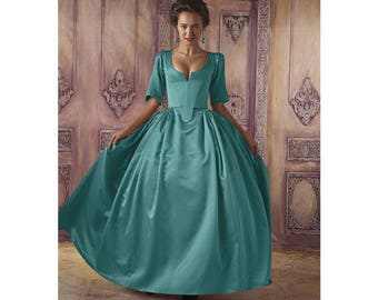 Simplicity  Sewing Pattern 8411 1800's Gown Dress-Costume Dress Size 6-14
