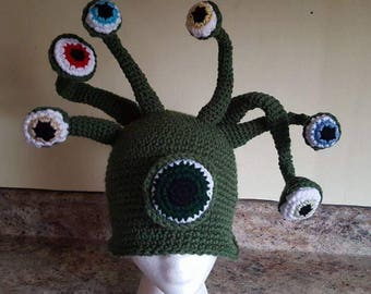 Beholder Hat pattern