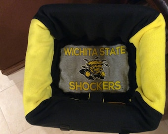 Restaurant Highchair Seat Cover, Wichita State University Shockers, this is an example only. Other prints available
