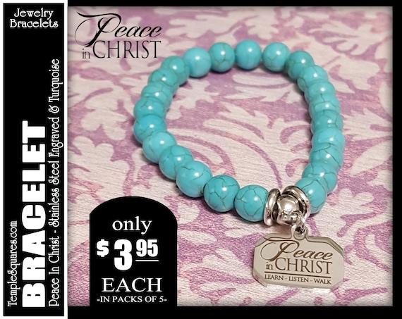 charm bracelet yw 2018 peace in christ young women lds theme