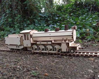 Steam Train wooden locomotive wood Train