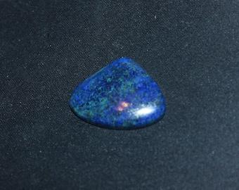 Beautiful cabochon of lapis lazulit No. 69 32 * 25mm