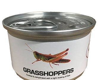 Can of Edible Grasshoppers