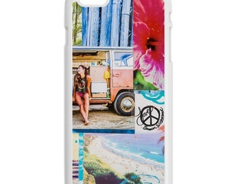 iPhone 6s/6, iPhone 6s/6 Plus Case, SUMMERTIME, iPhone 6s, iPhone 6s Plus, Palm Trees, Ocean, Best iPhone Case, Avail w Black or White Sides