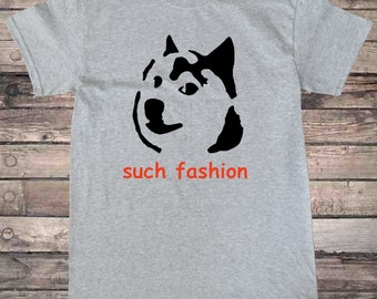 Doge Doggo Shba Pupper Such Fashion T-Shirt