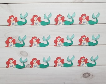 Ariel letter etsy princess ariel die cuts embellishments punchies punches toppers disney the little mermaid spiritdancerdesigns Image collections