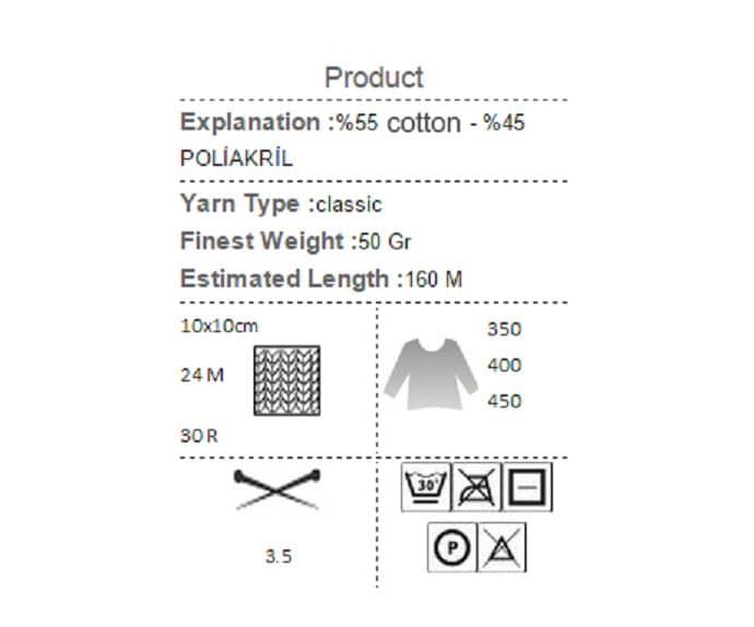 Yarnart jeans red orange yellow pattern yarn cotton yarn crochet sold by knittingandyarns ccuart Gallery