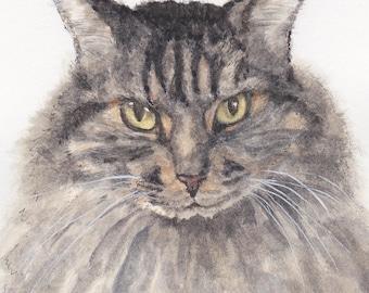 Personalized Pet Portrait - watercolor sketch of your favorite furry friend!