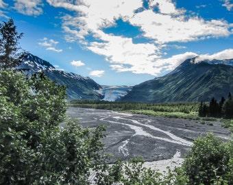 Exit Glacier, Alaska Photograph