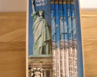 Statue of Liberty Souvenir pencils