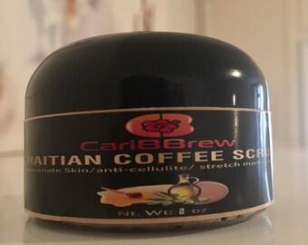 Organic Haitian Coffee Scrub SAMPLE
