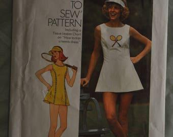 Tennis Dress Pattern - Size 14 - Simplicity pattern 6905