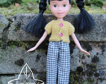 Repainted doll 121 by EvergreenDollsCo - OOAK made under rescued doll