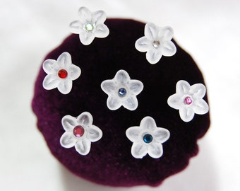 Flower Sewing Pins - Set of 6