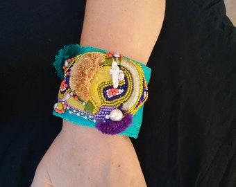Silk Handmade Bracelet #001
