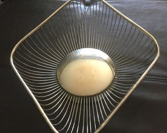 Vintage Raimond of Italy Silverplate Bread Basket