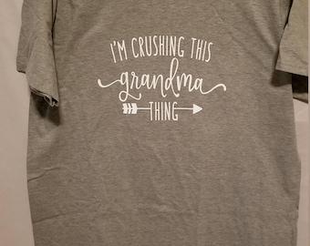 Grandma crushing it