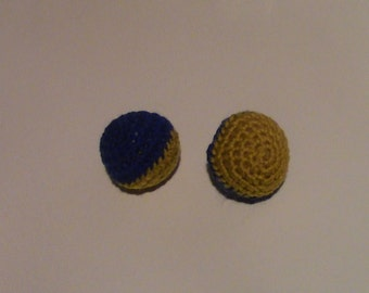 Cat Toy Balls- Cat Toys (inspired by Hogwarts School house colours)