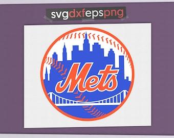 Baseball logo Team logo Mets New York Mets NY mets New York Mets art Mets baseball Mets logo New York Mets svg Baseball svg Baseball clipart