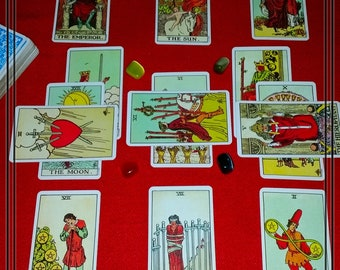 Tarot Email Reading for Relationships - 14 Cards - Any Questions Answered with 48 Hours