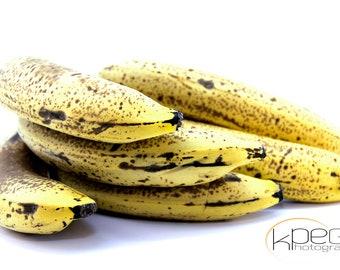 Ripe Bananas 3 - Still Life Canvas Photography Print