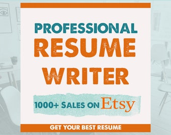 Best resume | Etsy