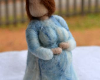 Blessing Way New Mother Mother's Day Needle felted Waldorf Inspired