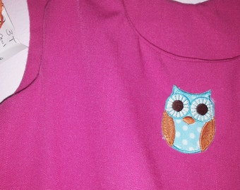 3T/4T pink owl jumper ready to ship