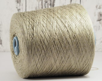 Cotton-linen yarn on cone, Italy, cotton with linen (Italy) on cone, per 100g: Li_Co_31