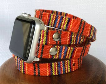 Apple Watch Band Womens Apple Watch Strap Apple Watch Bracelet Apple Watch Jewelry iwatch bracelet band Double Tour Apple Band Tribal Ethnic